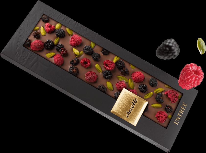 čokoláda k valentýnu