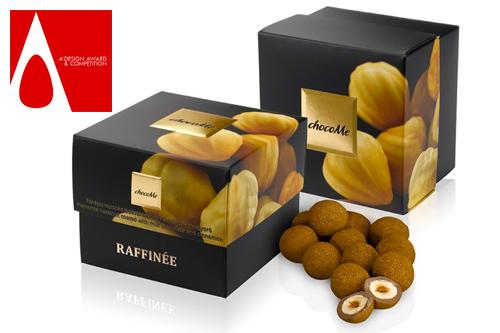 luxusně zabalené čokolády